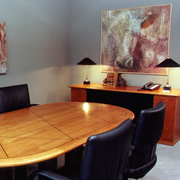 Woodpecker Enterprises: Cherry Racetrack Conference Table - Law Firm
