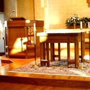 Woodpecker Enterprises - Liturgical Furniture - Chancel