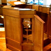 Woodpecker Enterprises - Liturgical Furniture - Pulpit 2