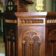 Woodpecker Enterprises - Liturgical Furniture - Pulpit