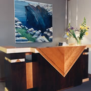 """THE BANDANNA"" RECEPTION DESK"
