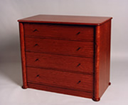 BUBINGA CHEST
